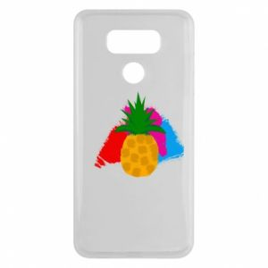 LG G6 Case Pineapple on a bright background