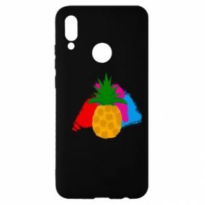 Huawei P Smart 2019 Case Pineapple on a bright background