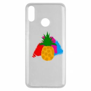 Huawei Y9 2019 Case Pineapple on a bright background