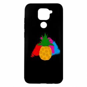 Etui na Xiaomi Redmi Note 9/Redmi 10X Ananas na jasnym tle
