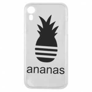 Etui na iPhone XR Ananas