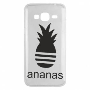 Etui na Samsung J3 2016 Ananas