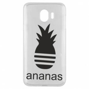 Etui na Samsung J4 Ananas