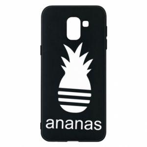 Etui na Samsung J6 Ananas