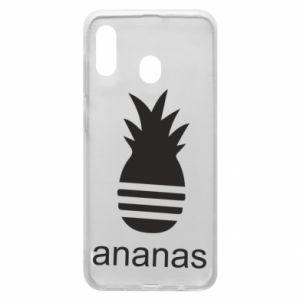 Etui na Samsung A20 Ananas