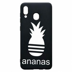 Etui na Samsung A30 Ananas