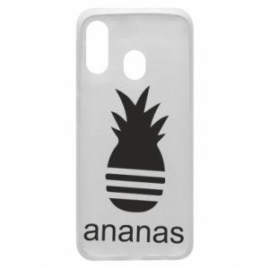 Etui na Samsung A40 Ananas