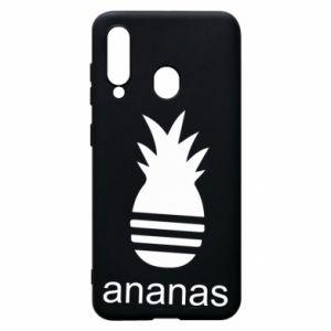 Etui na Samsung A60 Ananas