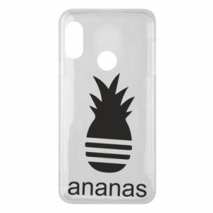 Etui na Mi A2 Lite Ananas
