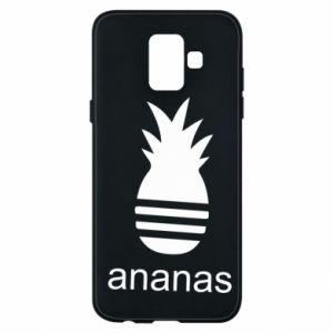 Etui na Samsung A6 2018 Ananas