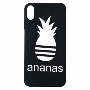 Etui na iPhone Xs Max Ananas