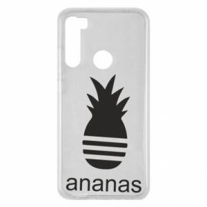 Xiaomi Redmi Note 8 Case Ananas