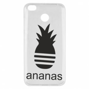 Xiaomi Redmi 4X Case Ananas