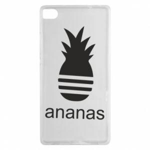 Huawei P8 Case Ananas