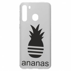 Samsung A21 Case Ananas