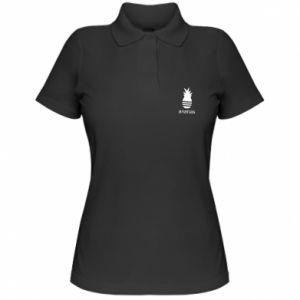 Damska koszulka polo Ananas
