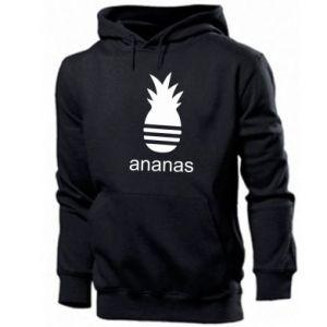 Męska bluza z kapturem Ananas