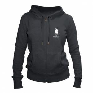 Women's zip up hoodies Ananas