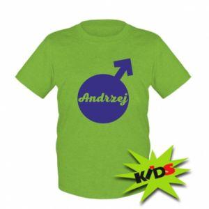 Dziecięcy T-shirt Andrzej