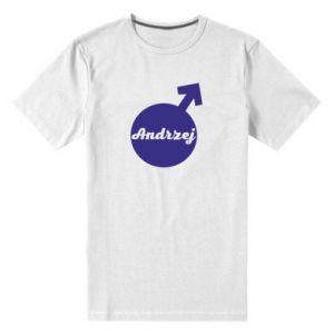 Męska premium koszulka Andrzej
