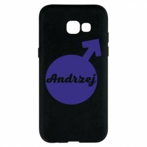 Etui na Samsung A5 2017 Andrzej