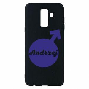 Etui na Samsung A6+ 2018 Andrzej
