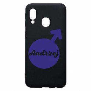 Etui na Samsung A40 Andrzej