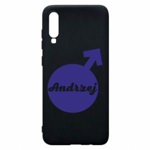 Etui na Samsung A70 Andrzej