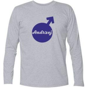 Koszulka z długim rękawem Andrzej