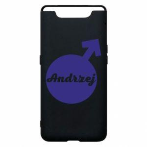 Etui na Samsung A80 Andrzej