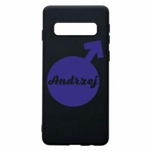 Etui na Samsung S10 Andrzej