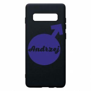 Etui na Samsung S10+ Andrzej