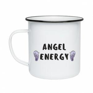 Enameled mug Angel energy