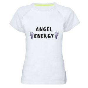 Women's sports t-shirt Angel energy