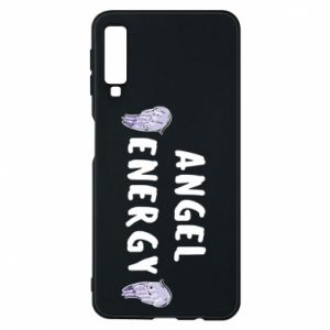 Phone case for Samsung A7 2018 Angel energy