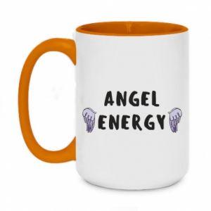 Two-toned mug 450ml Angel energy