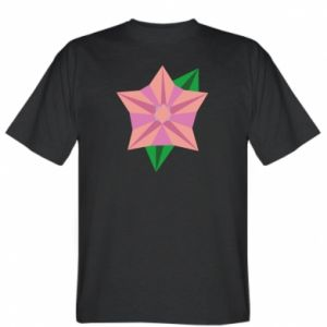 T-shirt Angle Flower Abstraction - PrintSalon