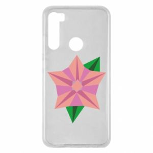 Etui na Xiaomi Redmi Note 8 Angle Flower Abstraction