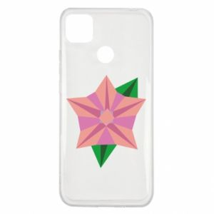 Etui na Xiaomi Redmi 9c Angle Flower Abstraction