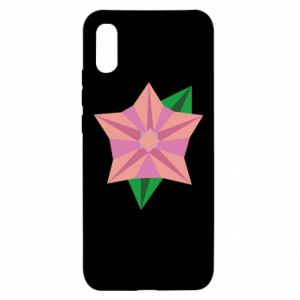 Etui na Xiaomi Redmi 9a Angle Flower Abstraction