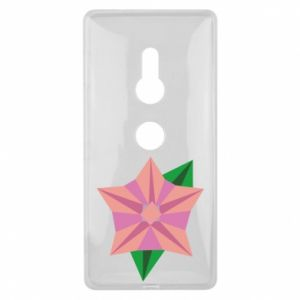Etui na Sony Xperia XZ2 Angle Flower Abstraction
