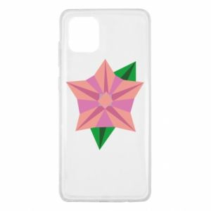 Etui na Samsung Note 10 Lite Angle Flower Abstraction