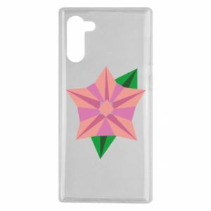Etui na Samsung Note 10 Angle Flower Abstraction