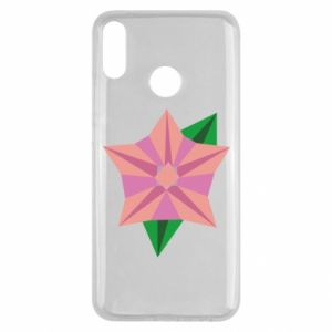Etui na Huawei Y9 2019 Angle Flower Abstraction