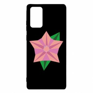 Etui na Samsung Note 20 Angle Flower Abstraction