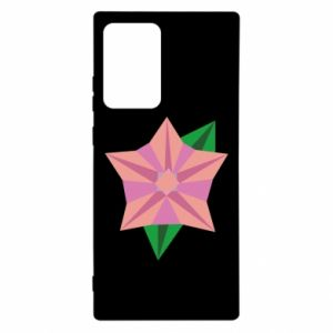 Etui na Samsung Note 20 Ultra Angle Flower Abstraction