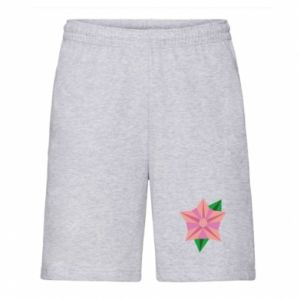 Men's shorts Angle Flower Abstraction - PrintSalon