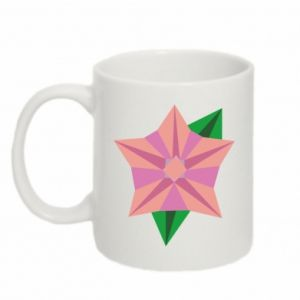 Mug 330ml Angle Flower Abstraction - PrintSalon