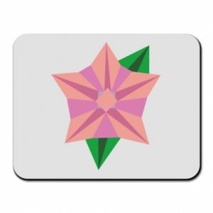 Mouse pad Angle Flower Abstraction - PrintSalon
