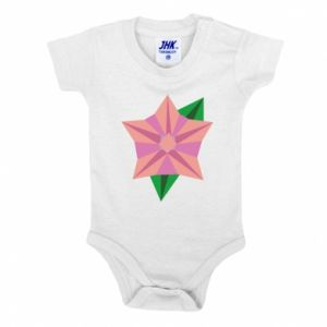 Baby bodysuit Angle Flower Abstraction - PrintSalon